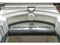 Receptionist for hotel in Earls Court