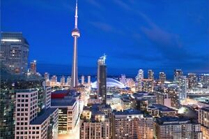 Furnished Suite in Condos, Toronto - Lake & CN View