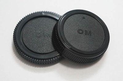 Body And Rear Lens Caps For Olympus OM Mount UK Seller