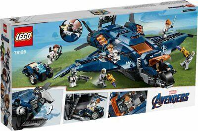 Lego Marvel Avengers Ultimate Quinjet Building Toy Set 838 pcs 76126