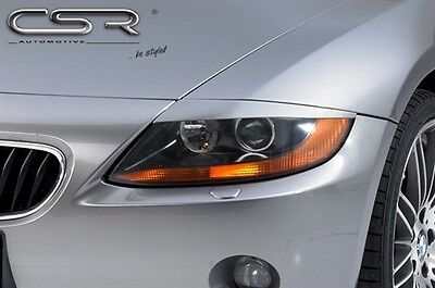 HEADLIGHT BROWS EYELIDS EYEBROWS FOR THE BMW Z4 E85 & E86