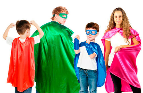 Everfan Superhero Cape - Kids and Adult - 14 Color Options