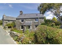 Detached Stone Holiday Cottage Nr Harlech North Wales
