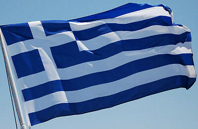 NEW 2X3ft 60cmX90cm GREECE GREEK GARDEN YARD POLE FLAG