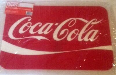 COCA COLA COKE  4 PC  RETRO WAVE PLACEMATS SET   NEW!