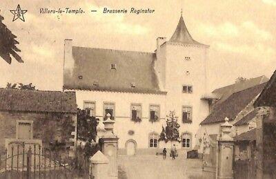Reproduction photo d'une carte postale de la brasserie de Villers-le-Temple