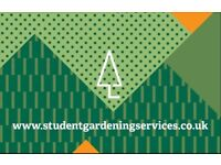 Student Gardening Services - no job not considered!