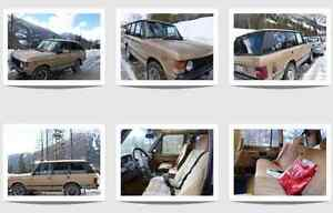 Range Rover Collector! Ultimate off road luxury!