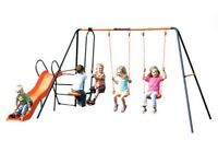 Hedstrom Europa Play Swing Set - Price Drop - RRP £150 open to offers