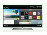 "LG 42"" LED smart wifi tv built in HD freeview USB media player"