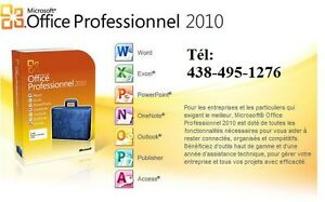 Office Pro 2010:Word-Excel-Access-Powerpoint -Outlook.-Windows7