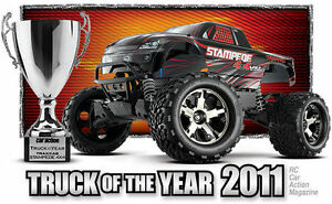 Traxxas RC Stampede 4X4 VXL 1/10 Scale Brushless