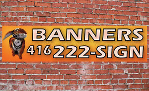 Wall Banner with full colour digital print / outdoor advertising