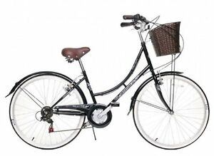 CLASSIQUE TRADITIONAL CLASSIC LADIES BIKE BASKET 16