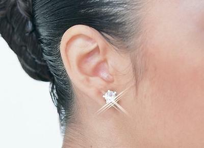 Crystal CZ Dance Earring Accessory Costume Ballet Competition Jewelry Rhinestone