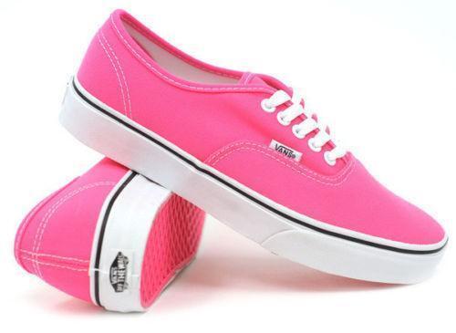 Neon Pink Vans Shoes Ebay
