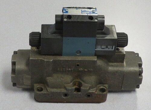 MILLER FLUID POWER Directional Control Valve M/N: 583-D8E-507