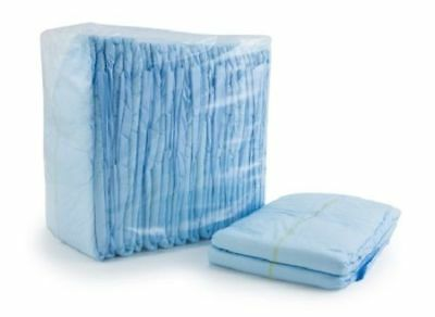 McKesson Adult Diaper Brief LARGE Contoured BRBRLG 72/Case (Large Diaper)