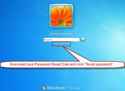 Windows Password Recovery, Reset & Remove - CD for Windows XP, VISTA, 7, 8 & 10