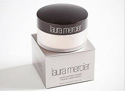 NIB Laura Mercier No.1 Loose Setting Face Powder Translucent 1 oz