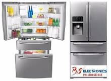 SAMSUNG 731L Stainless Steel French 4 Doors Fridge_SRF731GDLS Auburn Auburn Area Preview