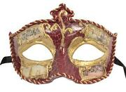 Gold Masquerade Mask