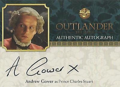 "Outlander Season 2 - AG Andrew Gower ""Prince Charles Stuart"" Autograph Card"