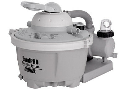 Game 4510 Sandpro 50 Sand Filter System For Above Ground Intex Swimming Pools Ebay