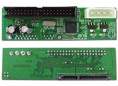 Pata Ide To Sata Hard Drive Adapter Converter 3 5 Hdd Parallel To Serial Ata New