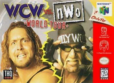 4 N64 Games: WCW vs. NWO World Tour, NHL Breakaway, NFL Qback & FIFA Soccer 64
