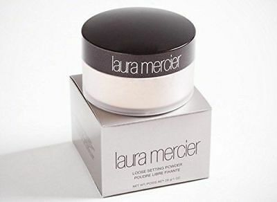 NIB Laura Mercier No 1 Loose Setting Face Powder Translucent 1oz Full Size