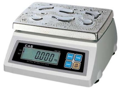 Cas Sw-20w Washdown Portion Control Scale 20lb X 0.01 Lbntep Legal For Trade
