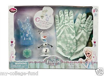 Authentic Disney Store Frozen Elsa Winter Gloves Set NEW - Elsa Gloves Frozen
