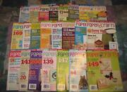 Scrapbook Magazine Lot