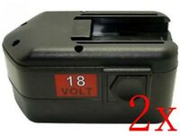 2 x 18V 3A Battery for MILWAUKEE 48-11-2200 48-11-2230 48-11-2232 LokTor H 18