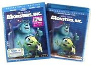 Disney Monsters Inc DVD