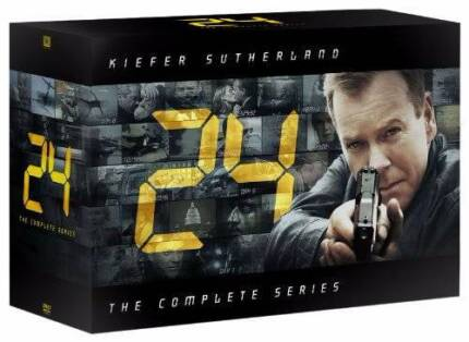 DVDs 24 The Complete Series