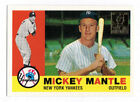 Mickey Mantle Professional Sports PSA Baseball Cards