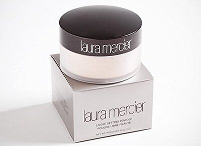 NIB Laura Mercier No.1 Loose Setting Face Powder Translucent 1oz Full Size CA