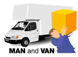 Man with a Van, Luton Van with tail lift, Removal service