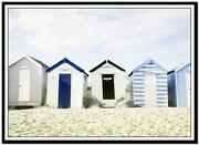 Beach Hut Canvas