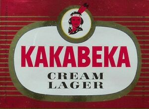 Looking for kakabeka cream lager beer cases and bottles