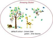 Animal Nursery Wall Stickers