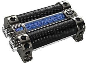 NEW-BOSS-CAP30-30-FARAD-LED-Hybrid-Blue-Digital-Display-Car-Audio-Capacitor-Cap