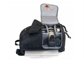 """Lowepro Fastpack 350 Quick Access CAMERA Backpack for SLR Kit, 17"""" Notebook and General Items"""