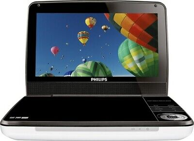 Philips 9-Inch LCD Portable DVD Player White/Black