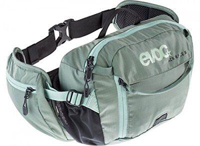 Evoc Hip Pack Race 3L with 1.5L Bladder Olive/Light Petrol, One Size