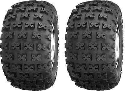 Pair (2) Sedona Bazooka Rear Atv Quad Utv Tires 20X11-9, 20X11X9, 20 11 9
