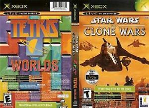 Star Wars Clone Wars / Tetris Worlds - XBOX