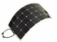 High Efficiency Flexible Solar Panel 100W 12V with SUNPOWER cells, 5-layer PET structure